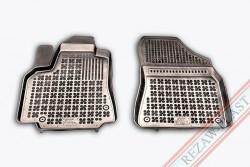 Коврики передние Citroen Berlingo 2008- черные 2 шт. Rezaw-Plast