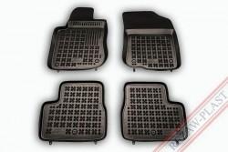 Коврики в салон Peugeot 208 2012- черные 4 шт. Rezaw-Plast