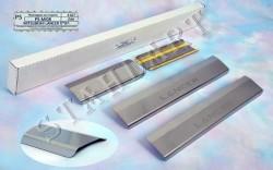 Накладки на пороги Mitsubishi Lancer 2007- Standart