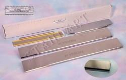 Накладки на пороги SsangYong Kyron 2007-2014 Standart