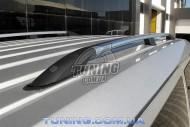 Рейлинги Ford Transit Connect 2002- с металлическими концевиками
