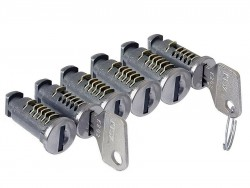 Комплект замков для поперечин Cruz 6 штуки с ключами