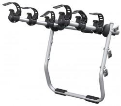 Крепление для 3 велосипедов Mistral на крышку багажника автомобиля.