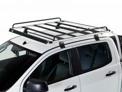 Корзина на крышу  Citroen C-Crosser 2007-2013 Cruz Alu Rack 130x120